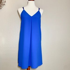 ALICE+OLIVIA blue dress size small